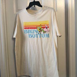New Nickelodeon Sponge Bob Men's T-Shirt